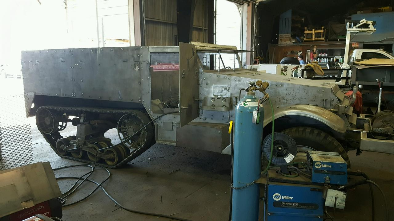 Restorations World War Ii Jeep Trailer Before Retored To Usmc Wwii Standards From The North Bay Military Club Half Track And Chevy Restoration Projects
